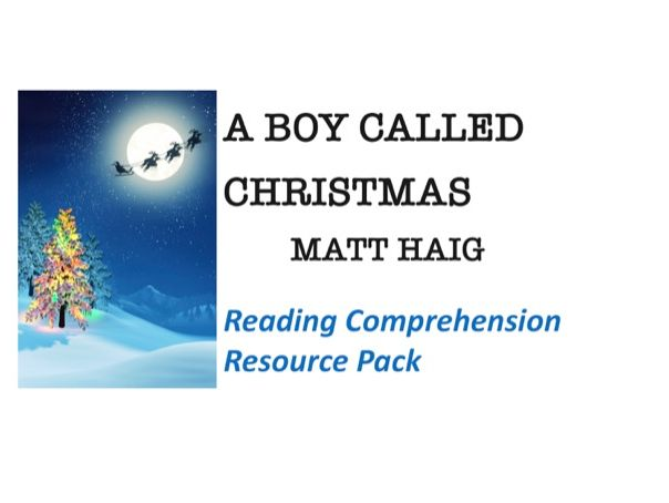 """A Boy Called Christmas"" Reading Comprehension"