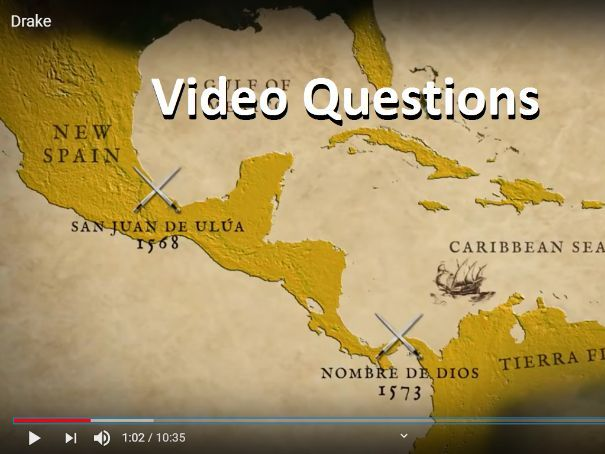 NEW! Drake's Circumnavigation  Video Question Sheet