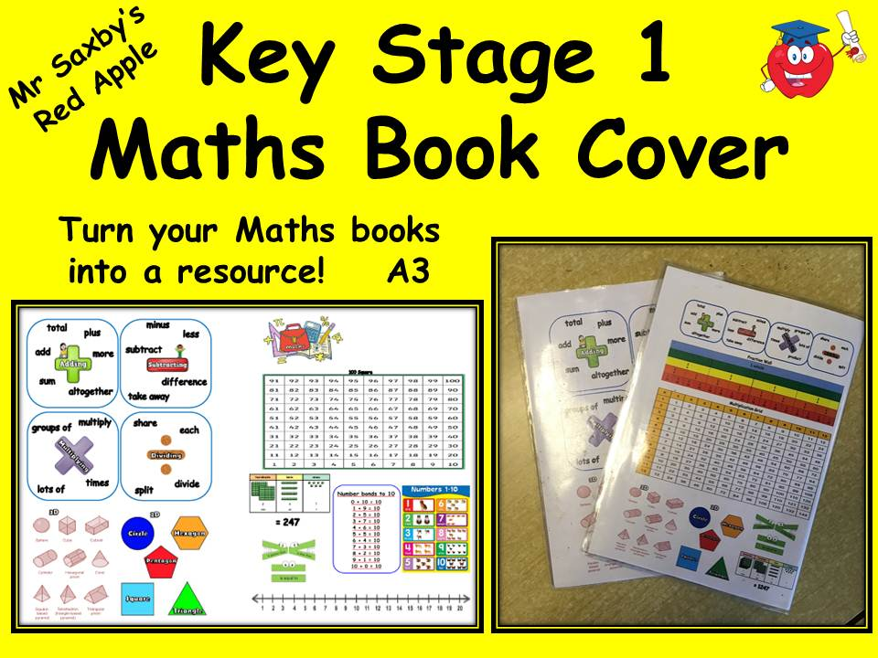 Key Stage 1 Maths Book Cover
