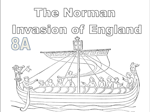 The Norman Invasion of England (Pupil workbook)