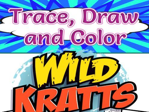Wild Kratts Trace, Draw and Color