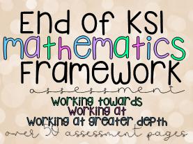 End of KS1 Mathematics Framework Assessment Moderation Year 2