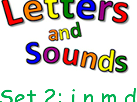 Phonics Phase 2 Letters and Sounds Set1(s,a,t,p)  and Set2(i,n,m,d)