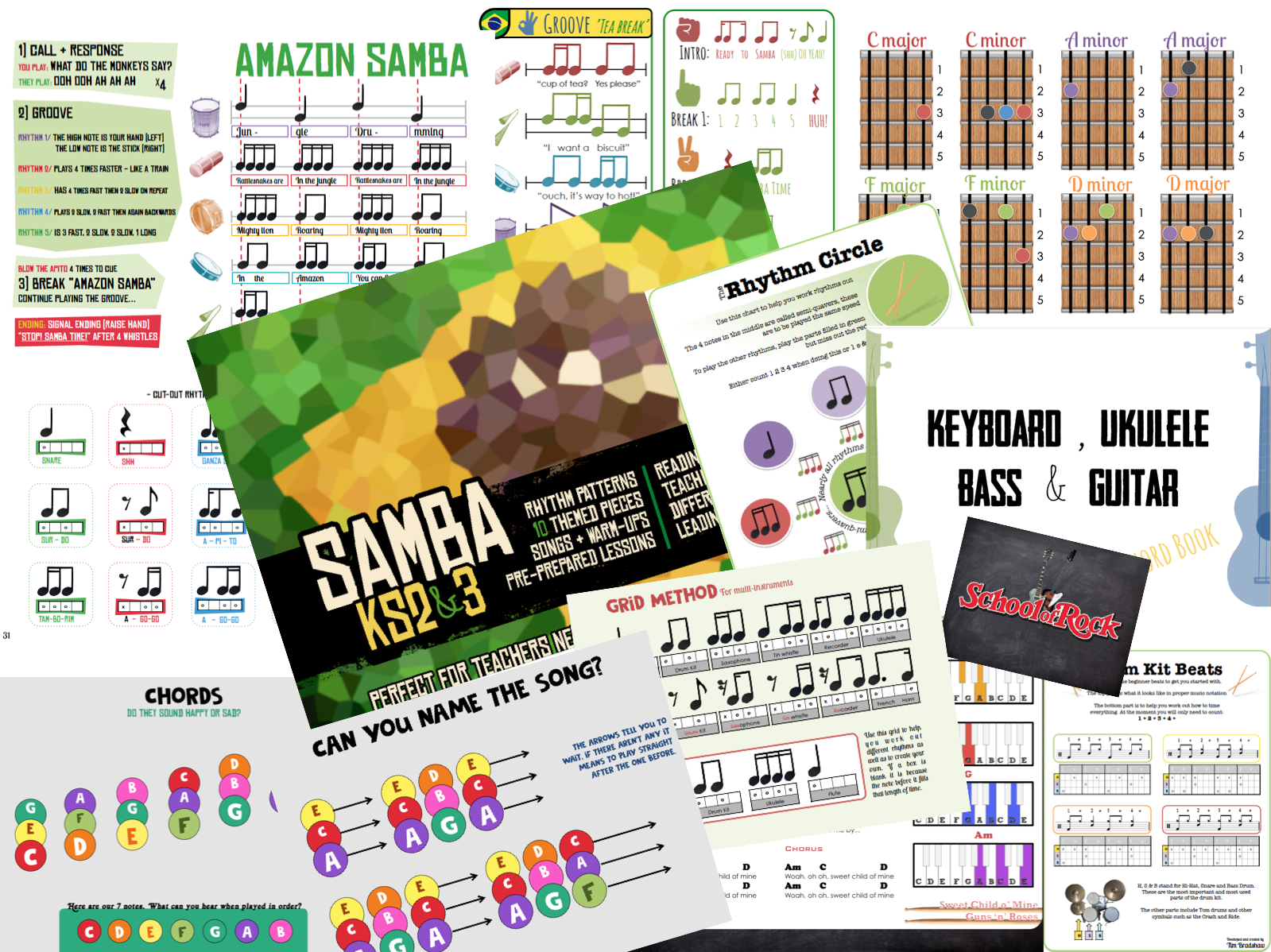 KS3 Music Teacher Resource Pack