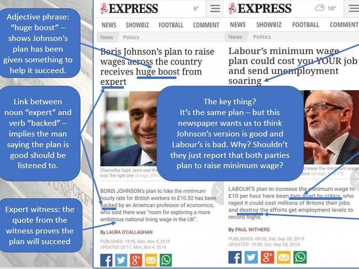 English News Scheme of Work