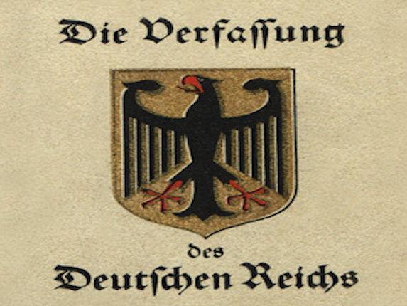 Card Sort: Weimar Constitution's Strengths & Weaknesses