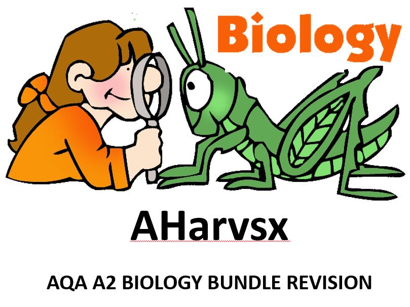 AQA A2 BIOLOGY REVISION BUNDLE