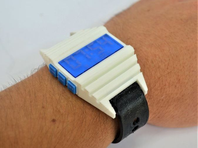 Prototype Watch w/ 3D printing - 10 weeks (Full project, PPT, worksheets, Examples, SoW)