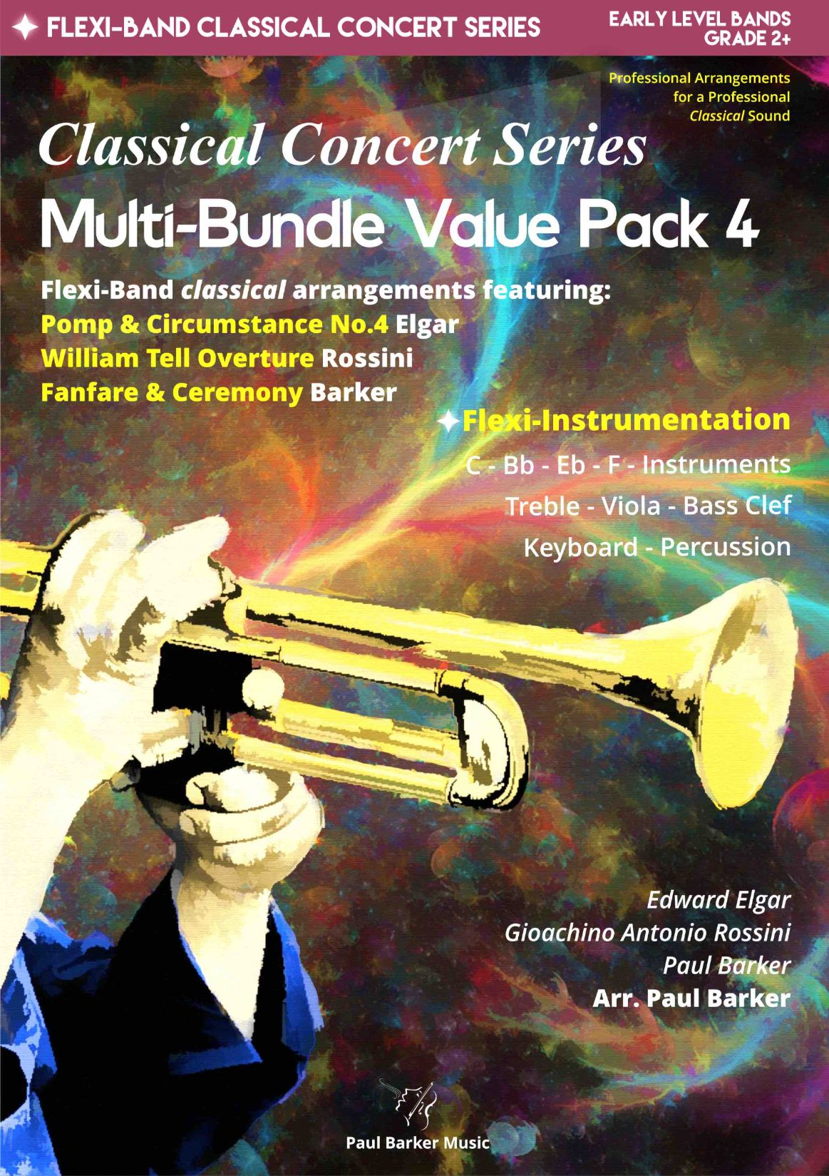 Flexi-Band Classical Concert Series - Multi-Bundle Pack 4