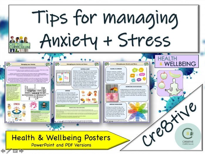 Anxiety + Mental Health - Home Learning