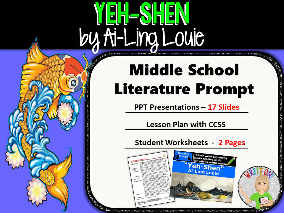 Yeh-Shen:  A Cinderella Story - Text Dependent Analysis Narrative Writing