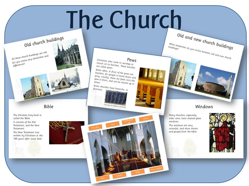 places of worship the church and christianity powerpoint and activities by highwaystar. Black Bedroom Furniture Sets. Home Design Ideas