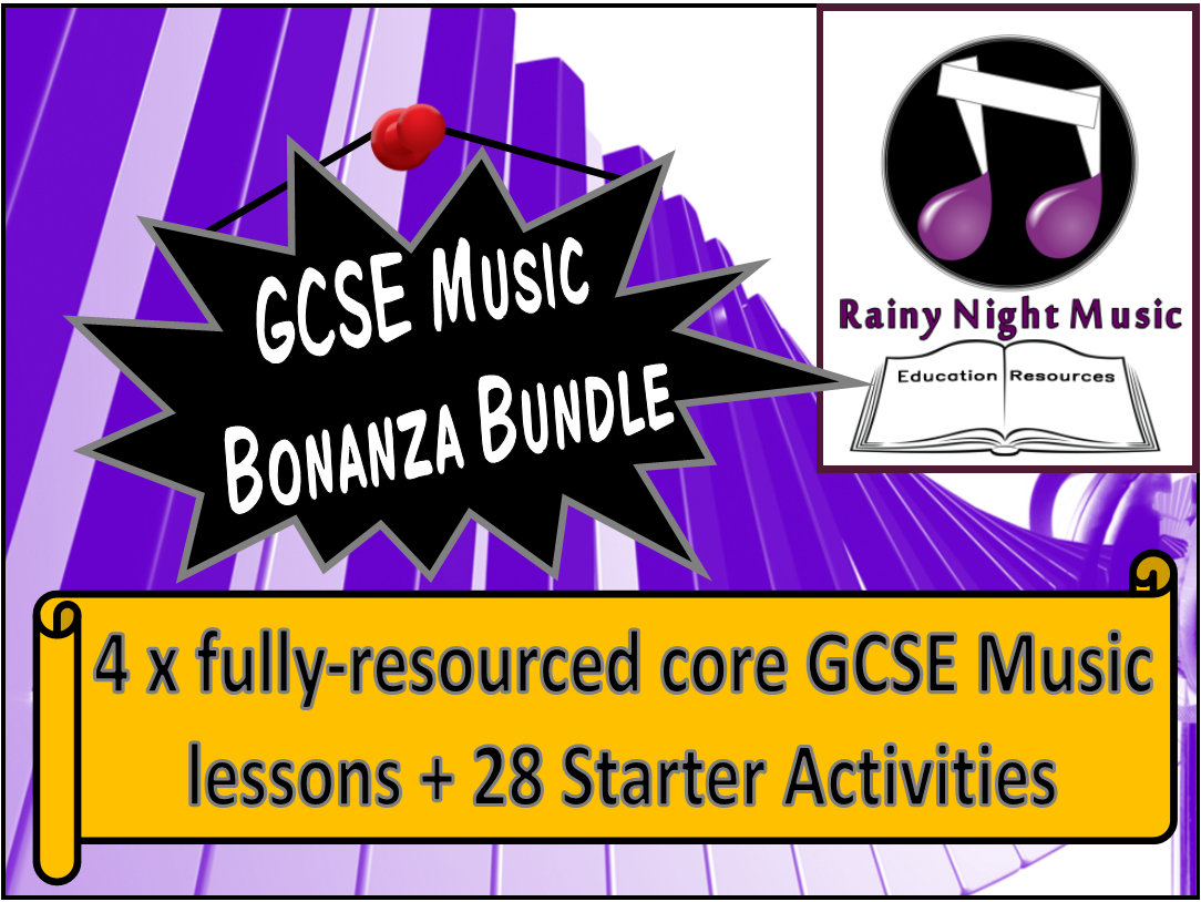 GCSE Music Bonanza Bundle