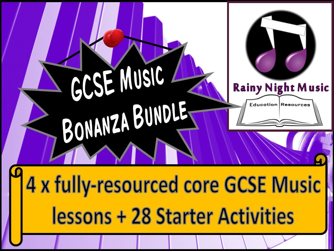 GCSE Music Bonanza Bundle