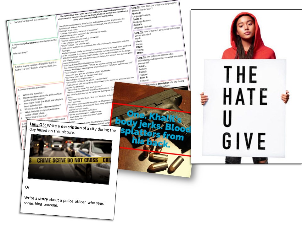 AQA English Language Paper 1: The Hate U Give
