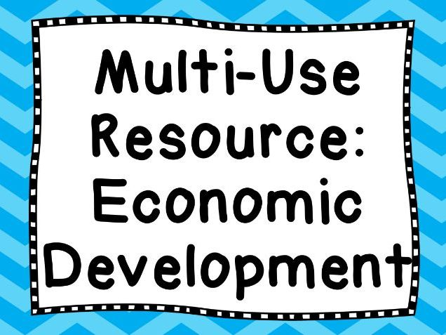 Geography: Multi-Use Resource Economic Development
