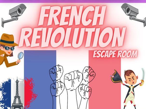 French Revolution Escape Room