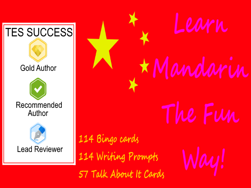 Learn Mandarin The Fun Way!