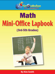 Math Mini-OfficeLapbook 3rd-5th Grade