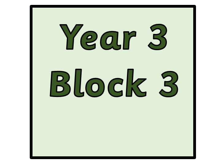 Year 3 - Block 3 Multiplication and Division