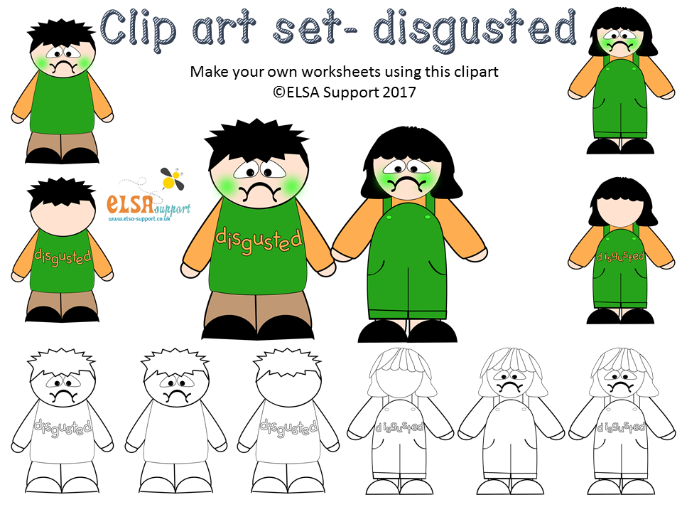 Emotions Clip art - Disgust