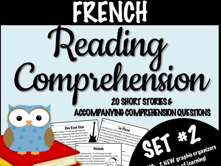FRENCH- Reading Comprehension Short Stories SET #2 - Compréhension écrite