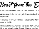 Beast from the East case study