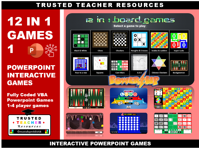 POWERPOINT Board Games PART 1