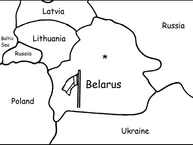BELARUS - Printable worksheets include a map to color