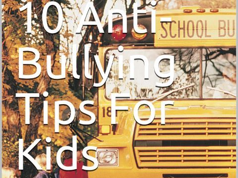 Jimbo's 10 Anti Bullying Tips For Kids