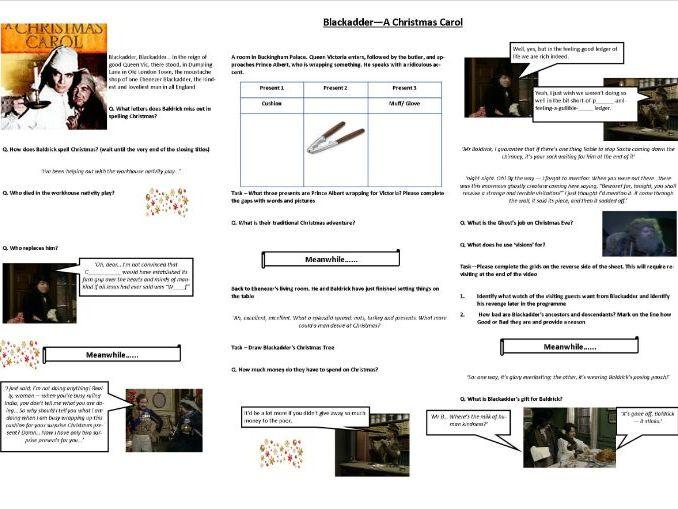 Blackadder - A Christmas Carol