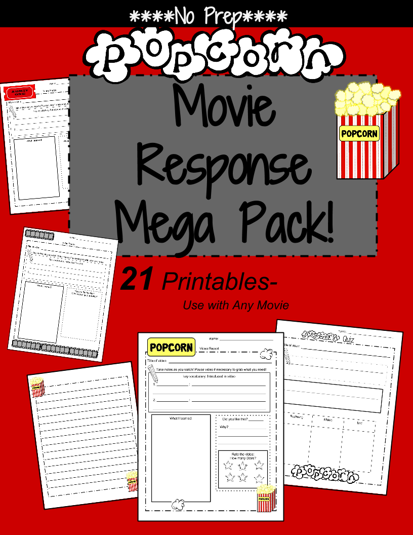 Movie Response Sheet: Video Review
