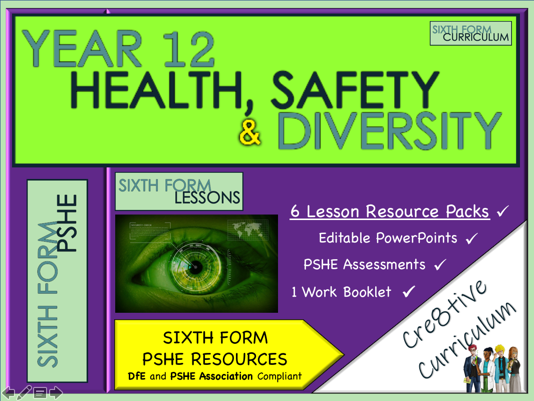 KS5 PSHE Health Safety Diversity Unit