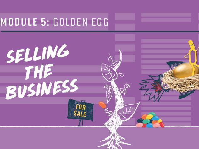 Golden Egg – Selling the Business, Full Set