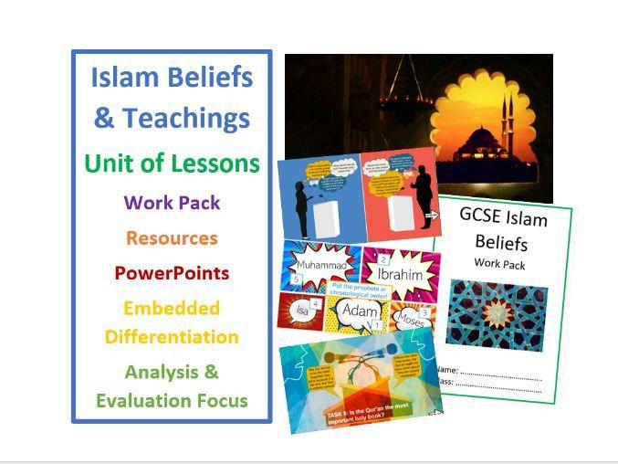 GCSE Islam Beliefs and Teachings - Socially Distanced Unit