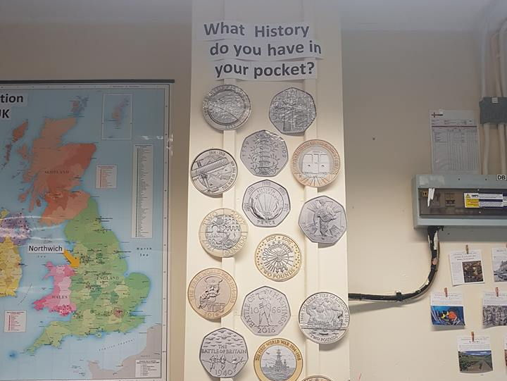 History Display - What history do you have in your pocket? Coins