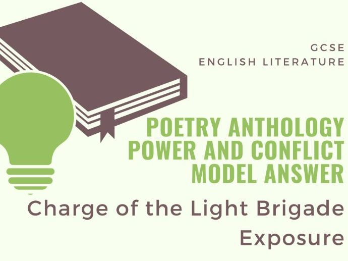 Model Answer: Comparing Exposure and Charge of the Light Brigade