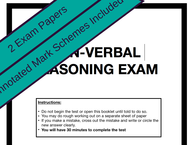 Verbal & Non-Verbal Reasoning Exam Papers