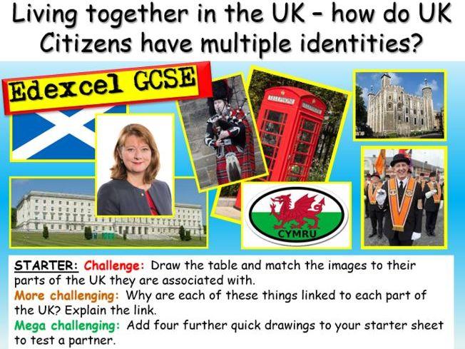 GCSE Citizenship : UK + Identity