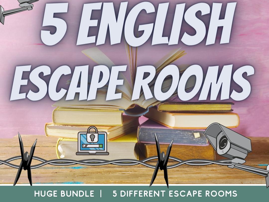 English Revision Escape Rooms