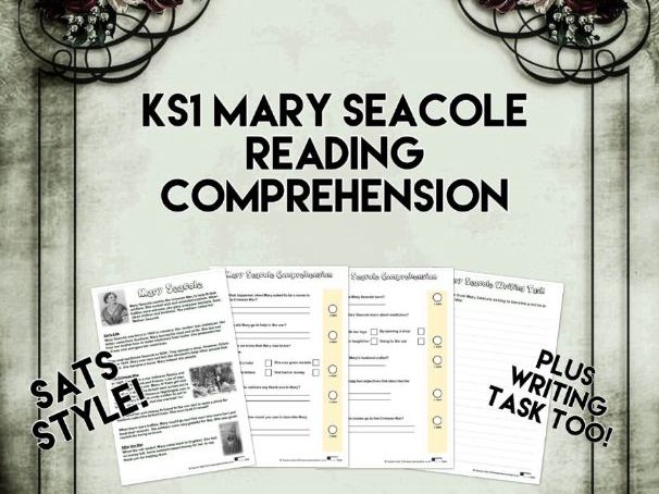 KS1 Mary Seacole Reading Comprehension