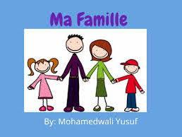 Ma famille (wordsearch)