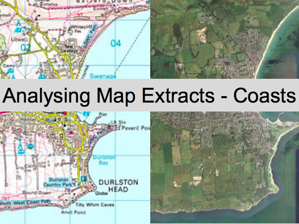 Analysing Map Extracts - Coasts