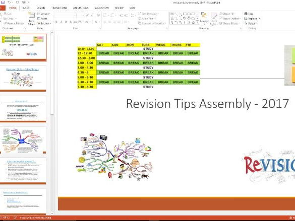Revision skills Assembly 2017