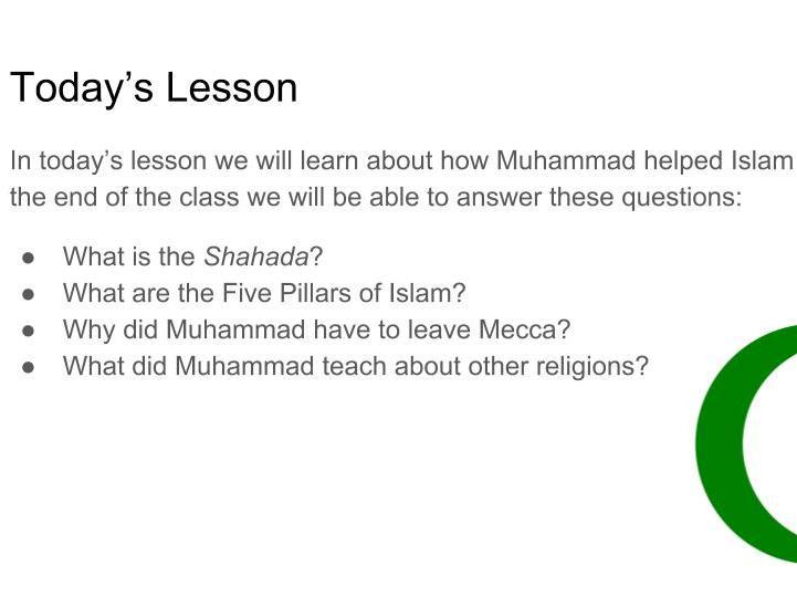 Islam - The Development of Islam