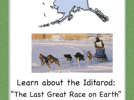 The Iditarod!  An Internet Activity