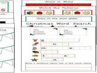 100 Christmas Activity Sheets