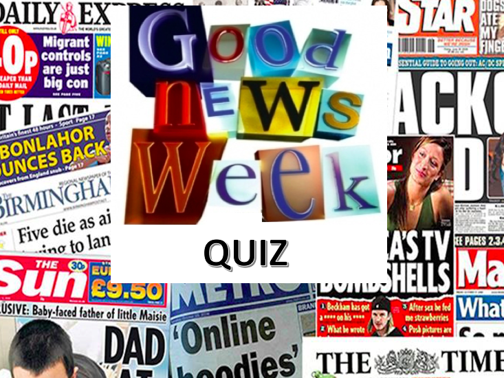 Weekly News Quiz September Edition Bundle includes 4 quizzes