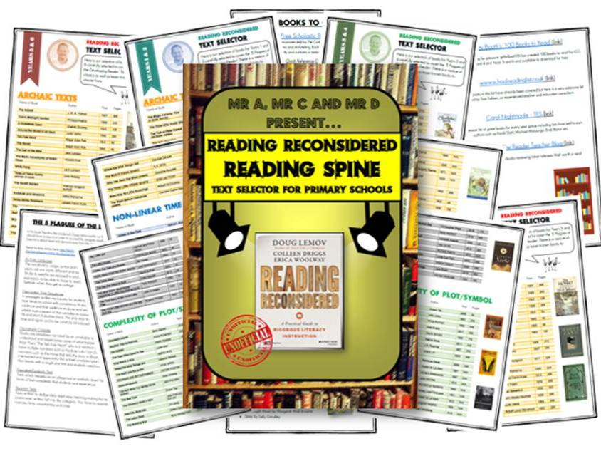 Reading (Reconsidered) Spine for Primary Schools