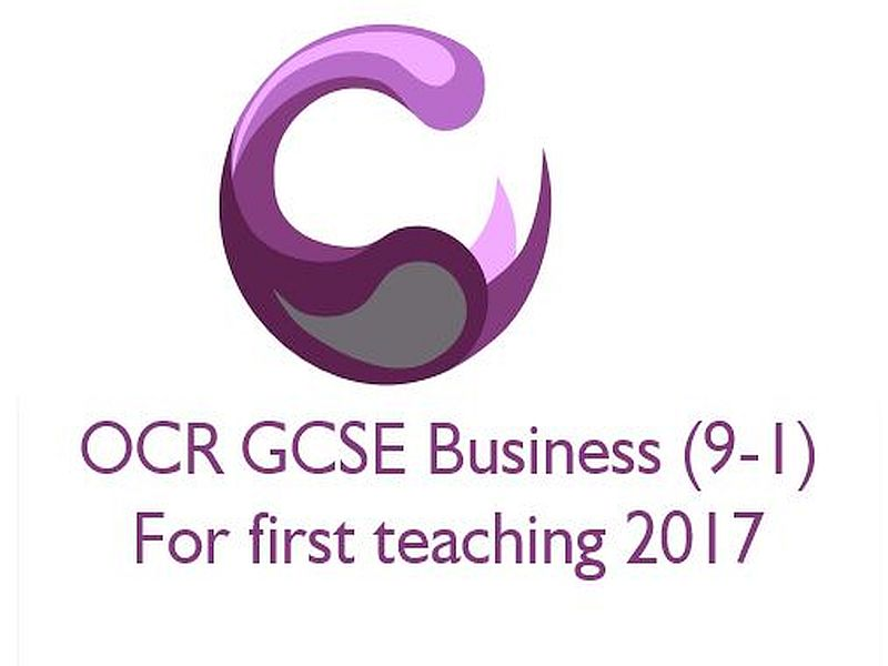 OCR GCSE Business new spec (9-1)